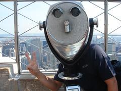 在帝國大廈觀景台巧遇外星人