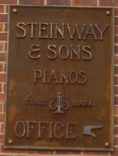 Steinway Sign
