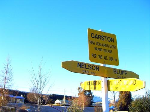 Garston小鎮路標