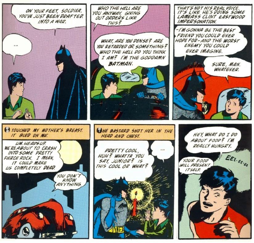 The Goddamn Batman.