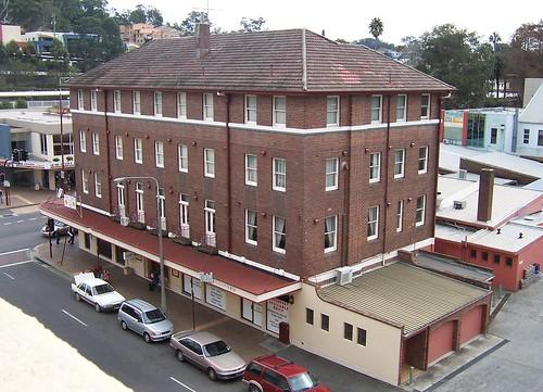 Hotel Gosford from Erina Street Gosford