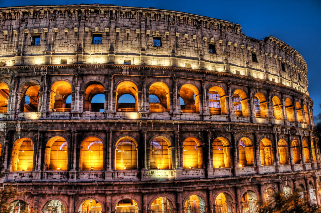 Colosseum by Candlelight