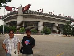 Stadium Meazza San Siro, Milan, Italy