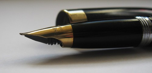 Sheaffer Touchdown - Nib - Side