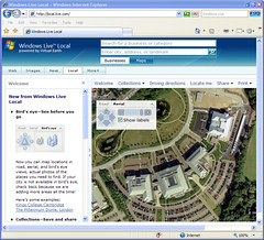 The New Shiny Windows Live Local