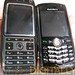 Blackberry Pearl and HTC MTeor