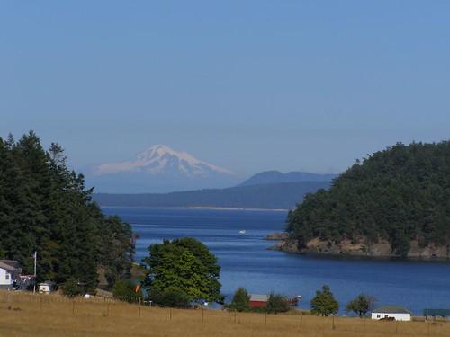 Mt. Baker from Stuart Island