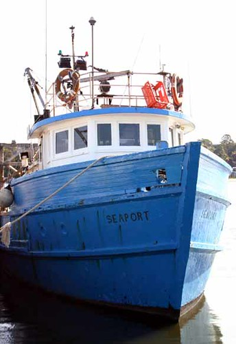 Fishing Boat at Sydney Fish Market