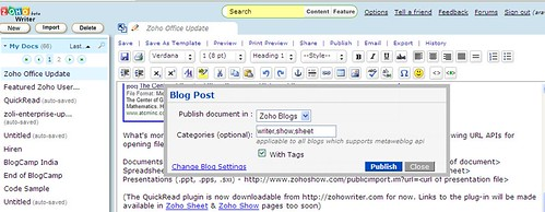 zohowriter-metaweblog-categories