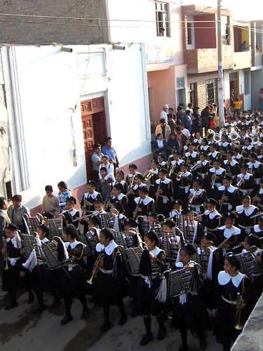 Desfile de los colegios