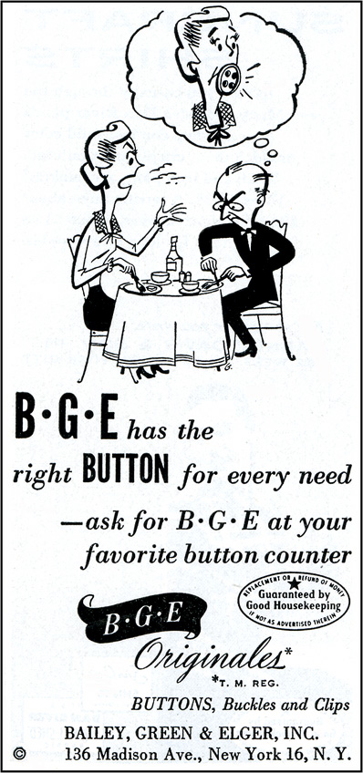 B-G-E Originales button ad