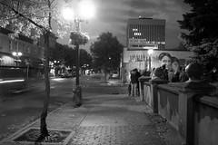 Night in downtown Prince Albert