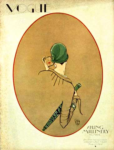 Porter Woodruff, Vogue, magazine cover, March 01 1926