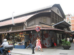 Mercado del barrio de Gracia