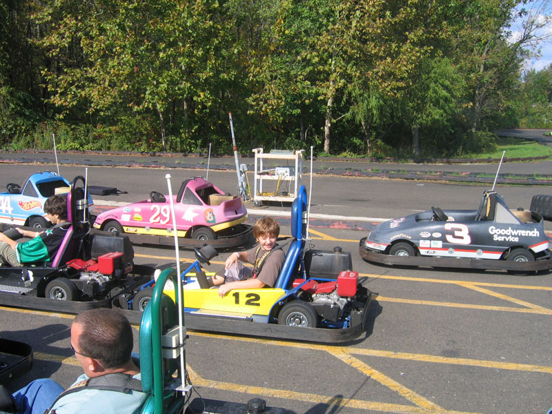 Aric in Go-Kart