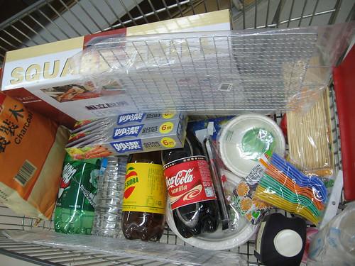 groceries (shopping cart)