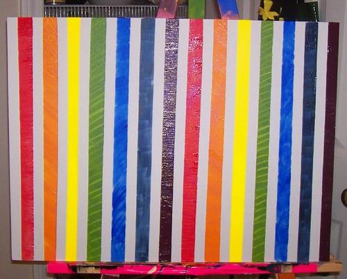 Rainbow Sans Masking Tape