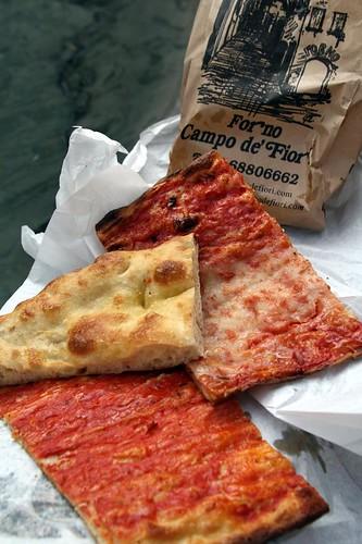 Pizza, Bianca e Rossa, Forno Campo de' Fiori