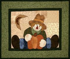 Straddling Scarecrow