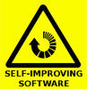 Warning sign from the future - self-improving software