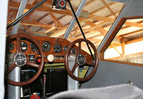 Stinson cockpit