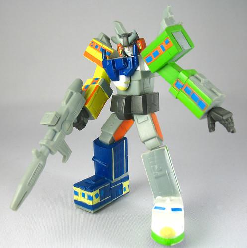 TF Headmasters - Raiden, Trainbot combiner