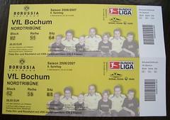 Tickets Borussia Dortmund - VfL Bochum