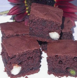 Brownie au chocolat sans oeuf sans gluten