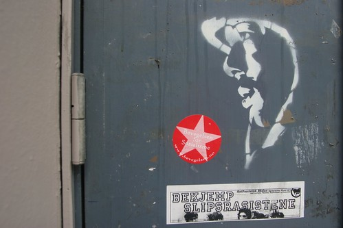 Bergen streetart