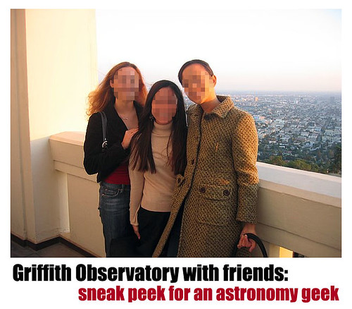 Griffith Observatory - friends