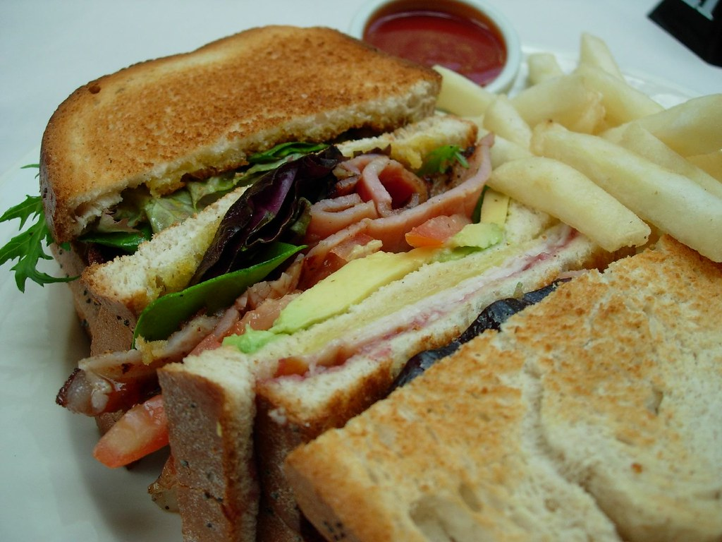 Club Sandwich from Cafe Fiori