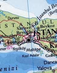 istanbul map