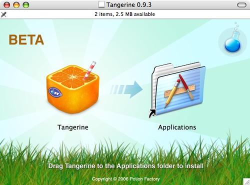Tangerine Install
