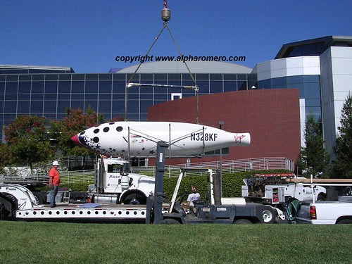 SpaceShipOne goes Google