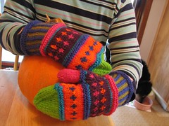 Covered in Color, covering a pumpkin