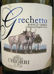 Grechetto Chiorri 2005 Bianco Umbria white wine