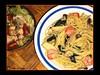 Papa's Shrimp & Mushroom Pasta Dinner