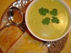 Cream of Vegetable Soup for a cold Winter Night