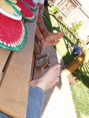 More feet