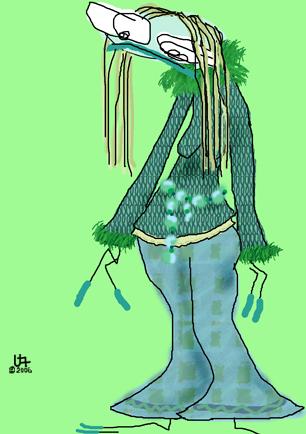 Greeny-Green Character
