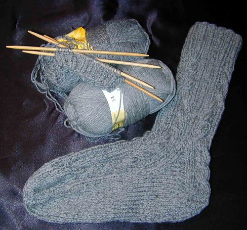 Log Cabin Sock No2