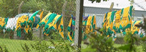 Donegal team shirts out to dry