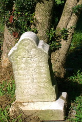Gravestone at Flint Hill Cemetery