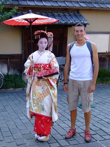 Fotos de un geisha class=