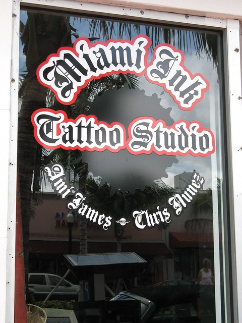 Tattoos shops in miami fl picsaso magazine for Tattoo shops in miami beach