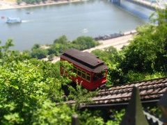 My first tilt-shift mini fake: Duquesne Incline