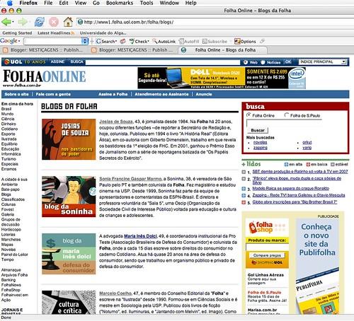 Blogs da Folha
