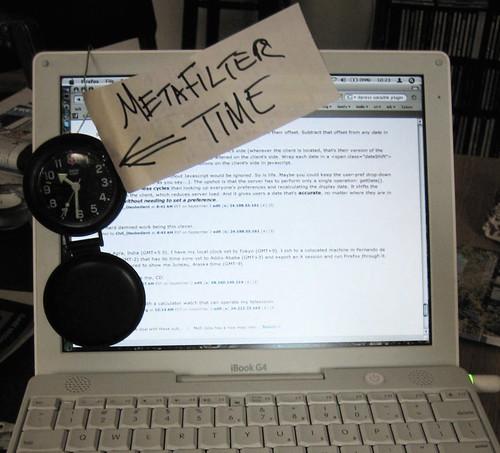 MetaFilter Time
