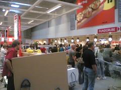 Stau an den Kassen (IKEA, Dortmund)