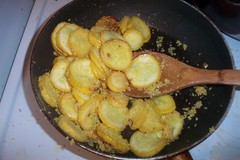 Faux-breaded yellow squash